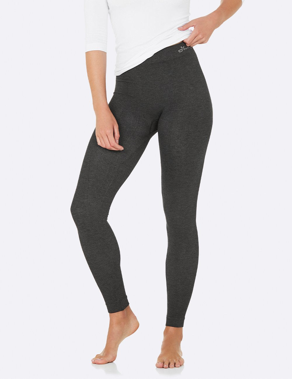 Full Length Active Tights - Dark Grey Marl/L