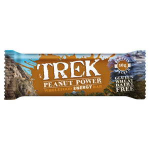 TREK Peanut Power Energy Bar - 16 x 55 g