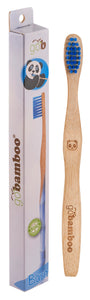Bamboo Toothbrush Kids Supersoft Blue - 20 x 1 toothbrush