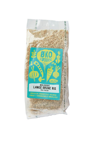 Organic Long Brown Rice - 8 x 500g