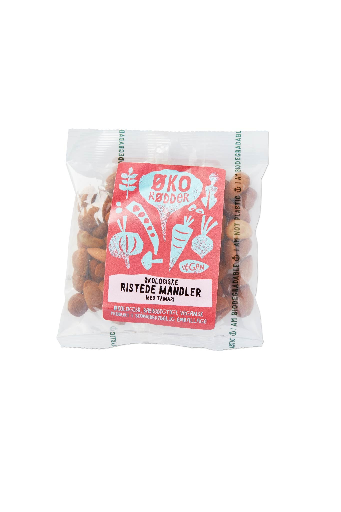 Organic Roasted Almonds with Tamari - 20 x 70g