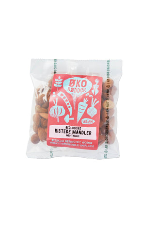 Organic Roasted Almonds with Tamari - 12 x 70g