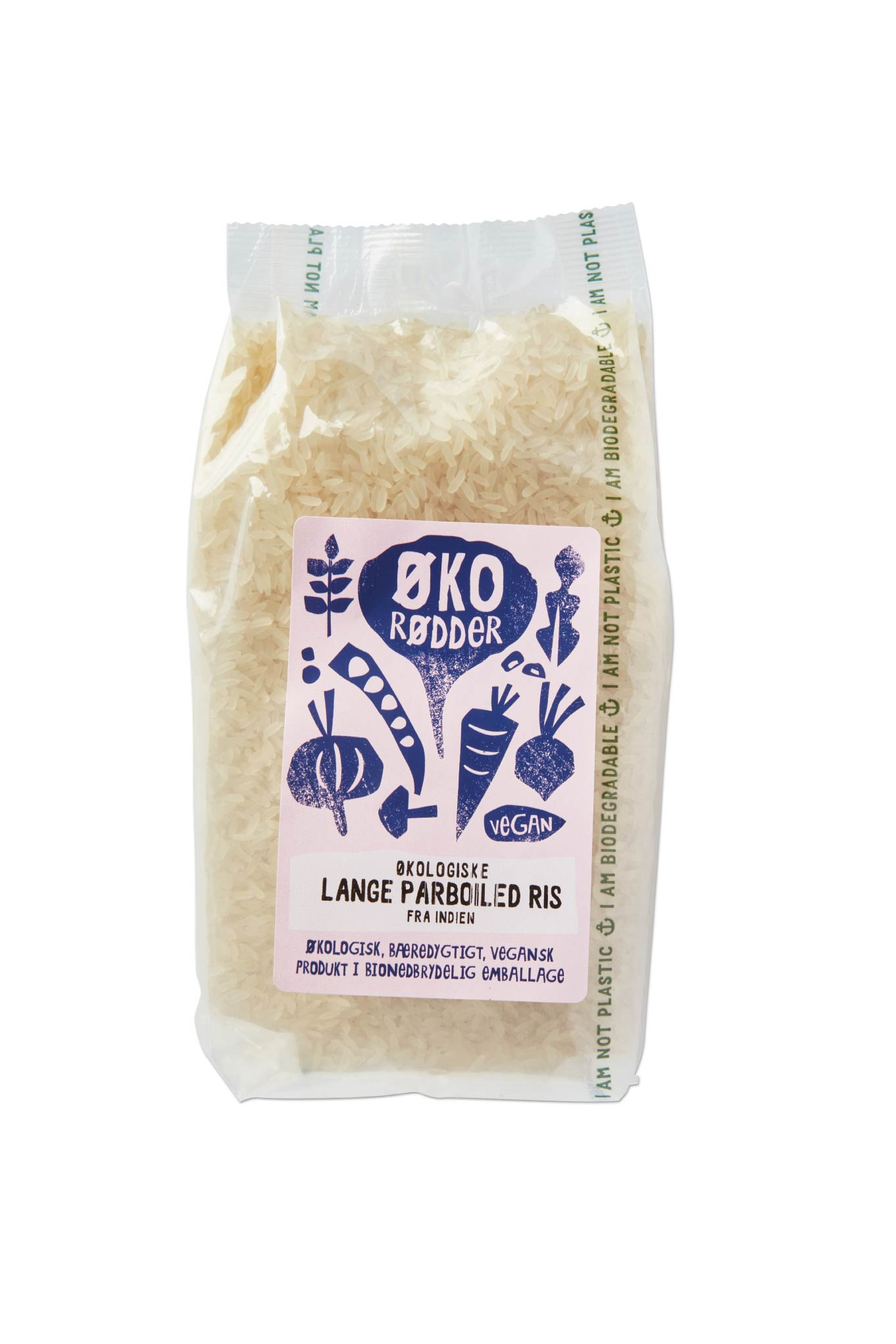 Organic Parboiled Rice - 12 x 500g