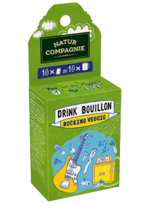 Drinking Bouillon - Rocking Veggie - 6 x 50 g