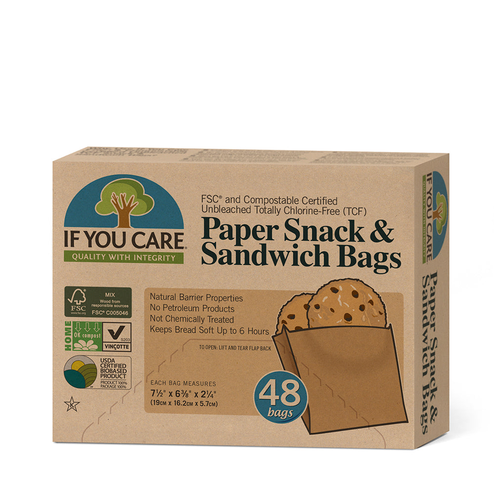 Paper Snack & Sandwich Bags 12 x 48 bags