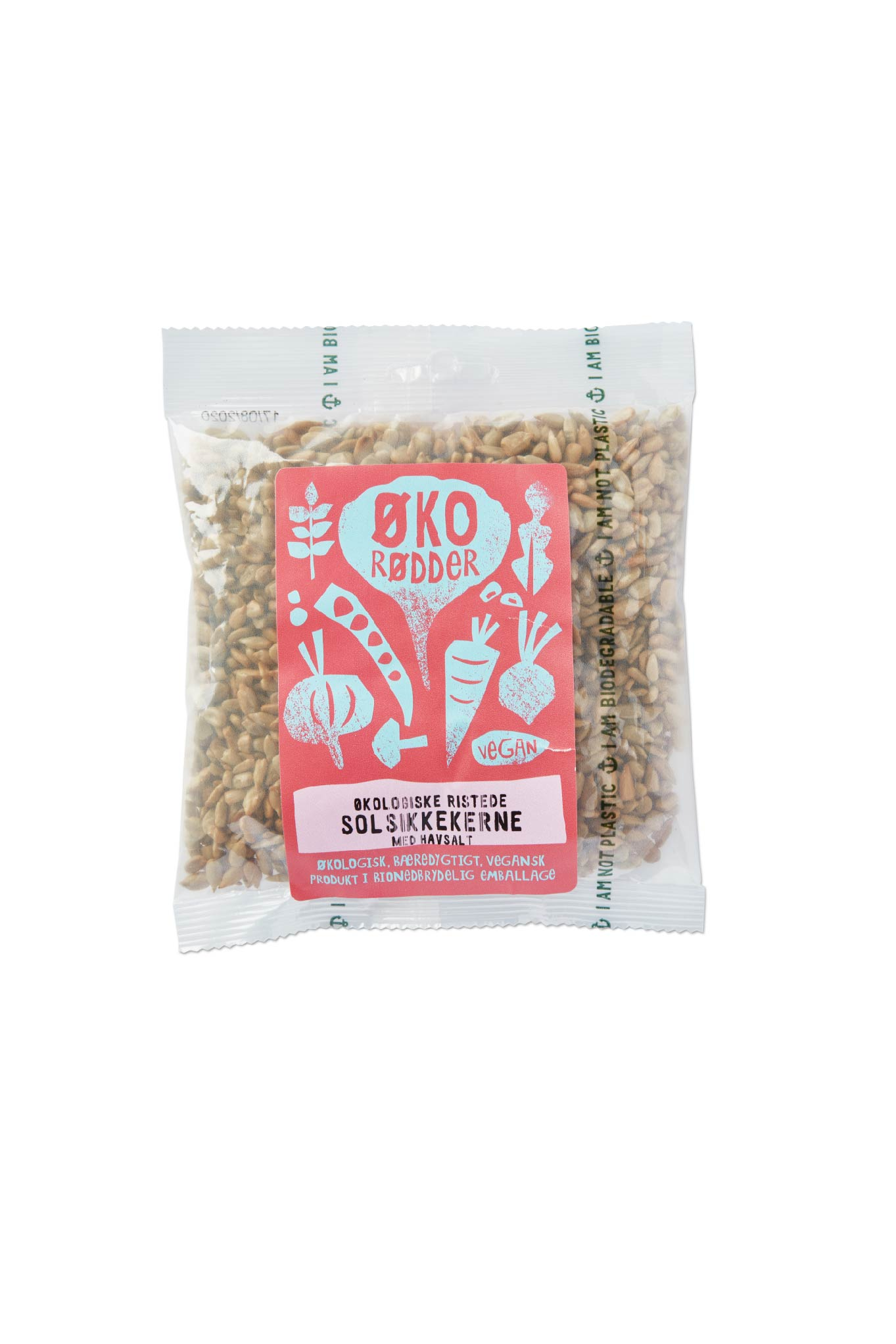 Organic Roasted Sunflower Seeds with Sea salt - 20 x 135g