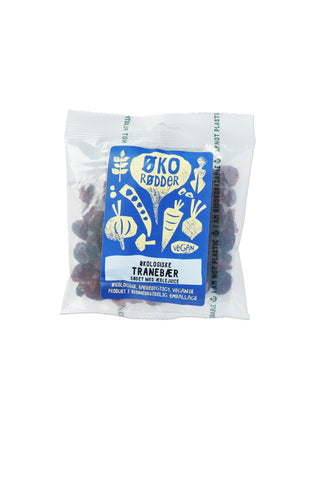 Organic Cranberries with apple juice - 12 x 65g