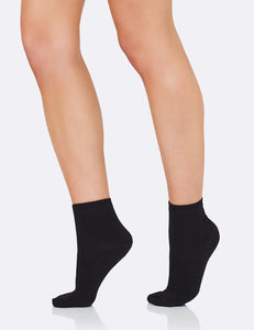 Women's Everyday Ankle Socks - Black/34-40