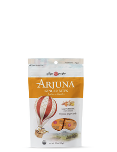 Arjuna Ginger Bites with Tumeric 6 x 48 g