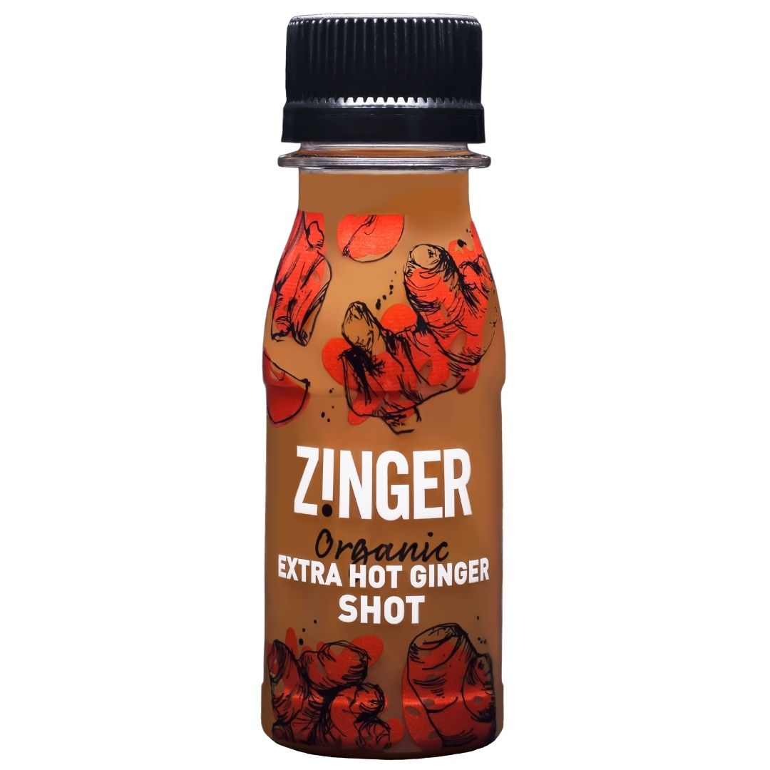 Zinger Organic Extra Hot Ginger Shot