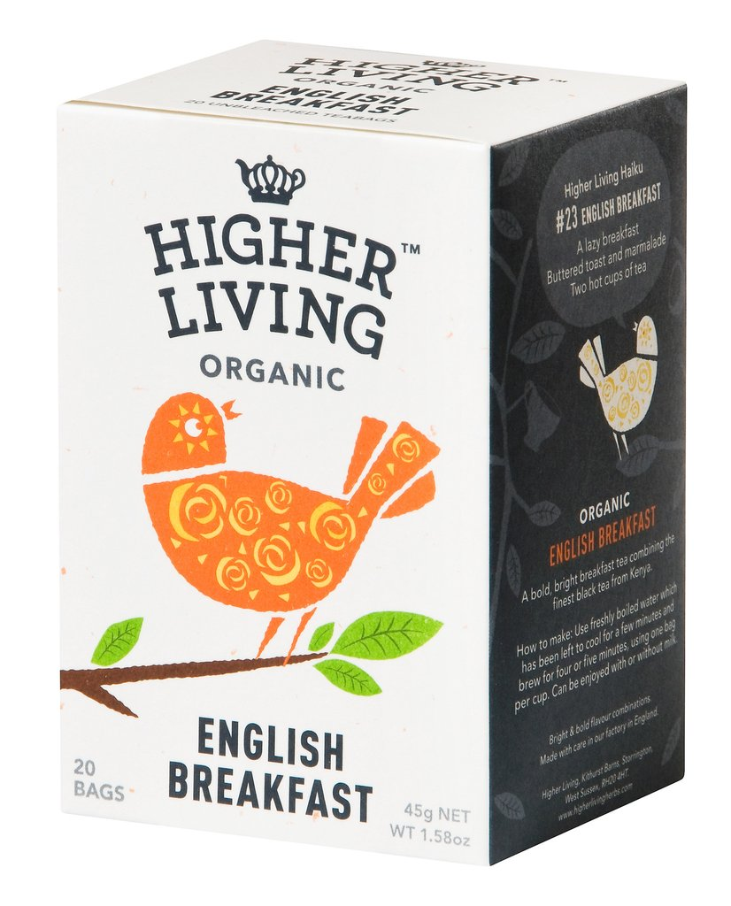 English Breakfast Tea - 4 x 20 teabags