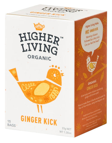 Ginger Kick Tea - 4 x 15 teabags