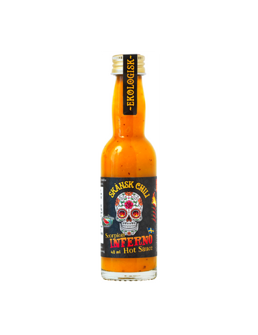 Scorpion Inferno Hot Sauce - 12 x 40ml