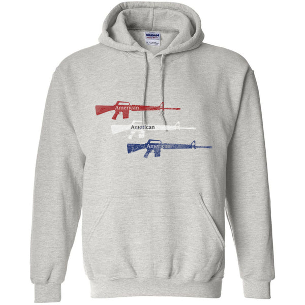 Red White Blue American Guns