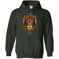 Rasta lion Smoking Joint