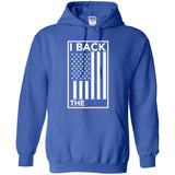 I Back The Blue American Flag