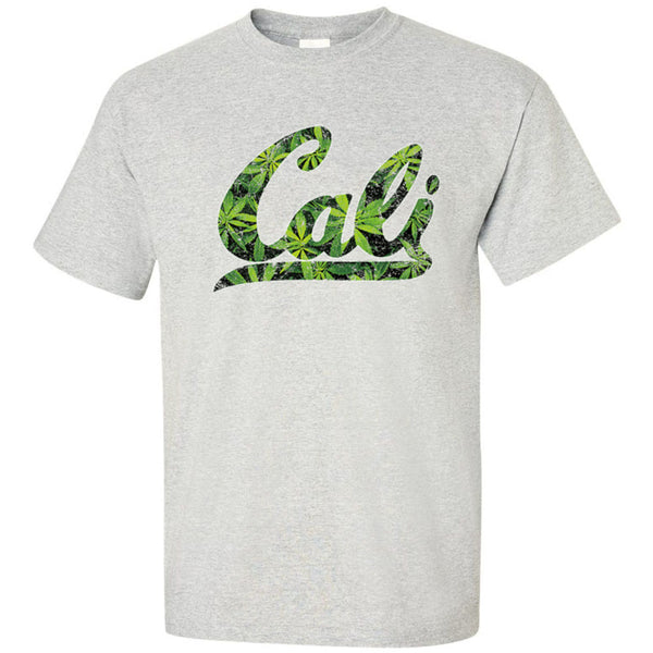 Cali Background Cannabis Leaves