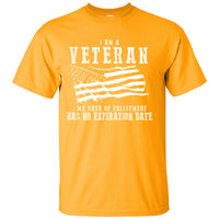 I am a Veteran My Oath of Enlistment has no Expiration Date