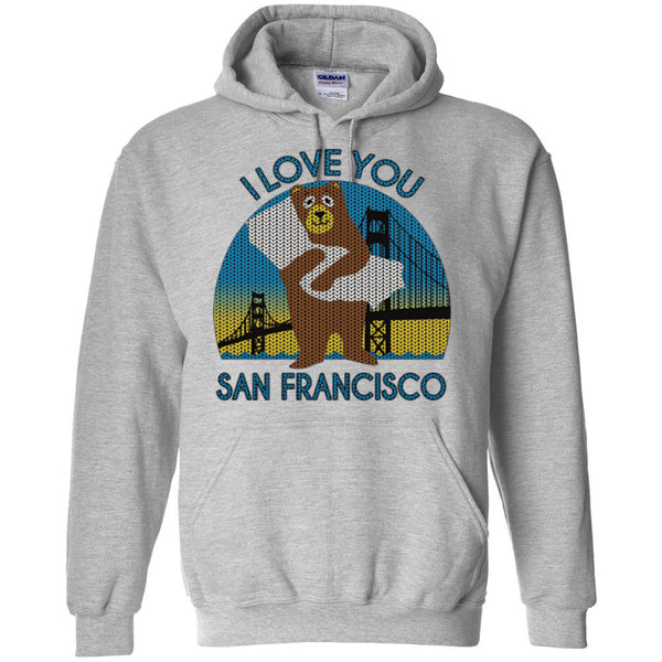 San Francisco Bear I Love You