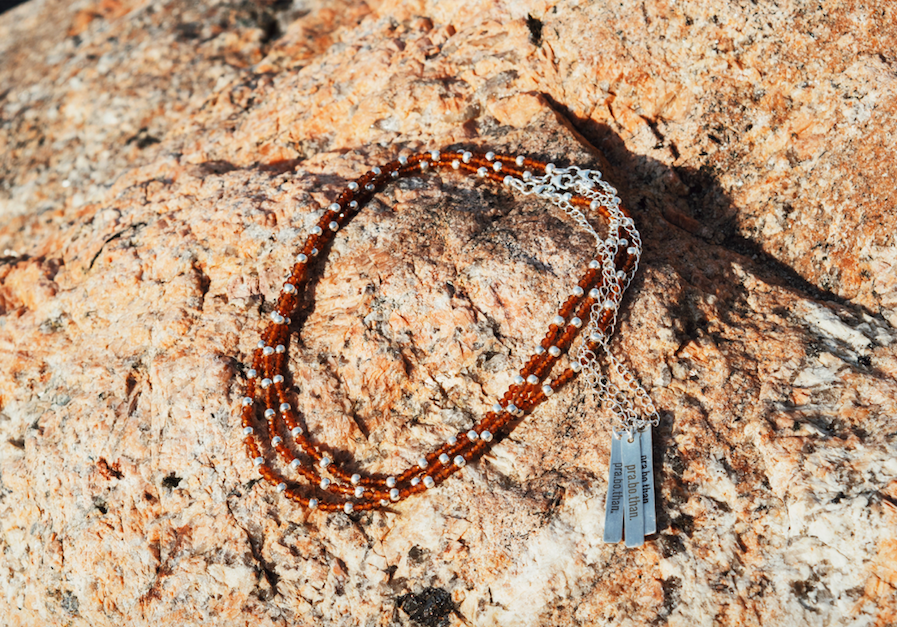 Panaminna Hessonite Choker