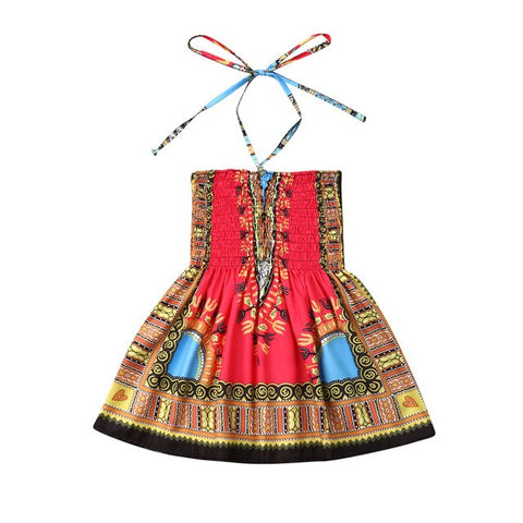 Ethnic African Style Dress