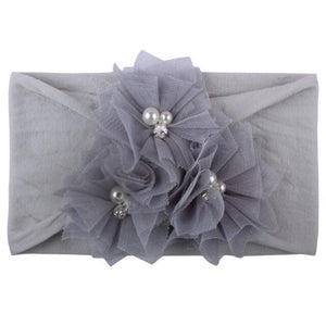 Pearl Flower Headband