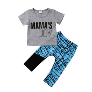 Boys Harem Pants Set