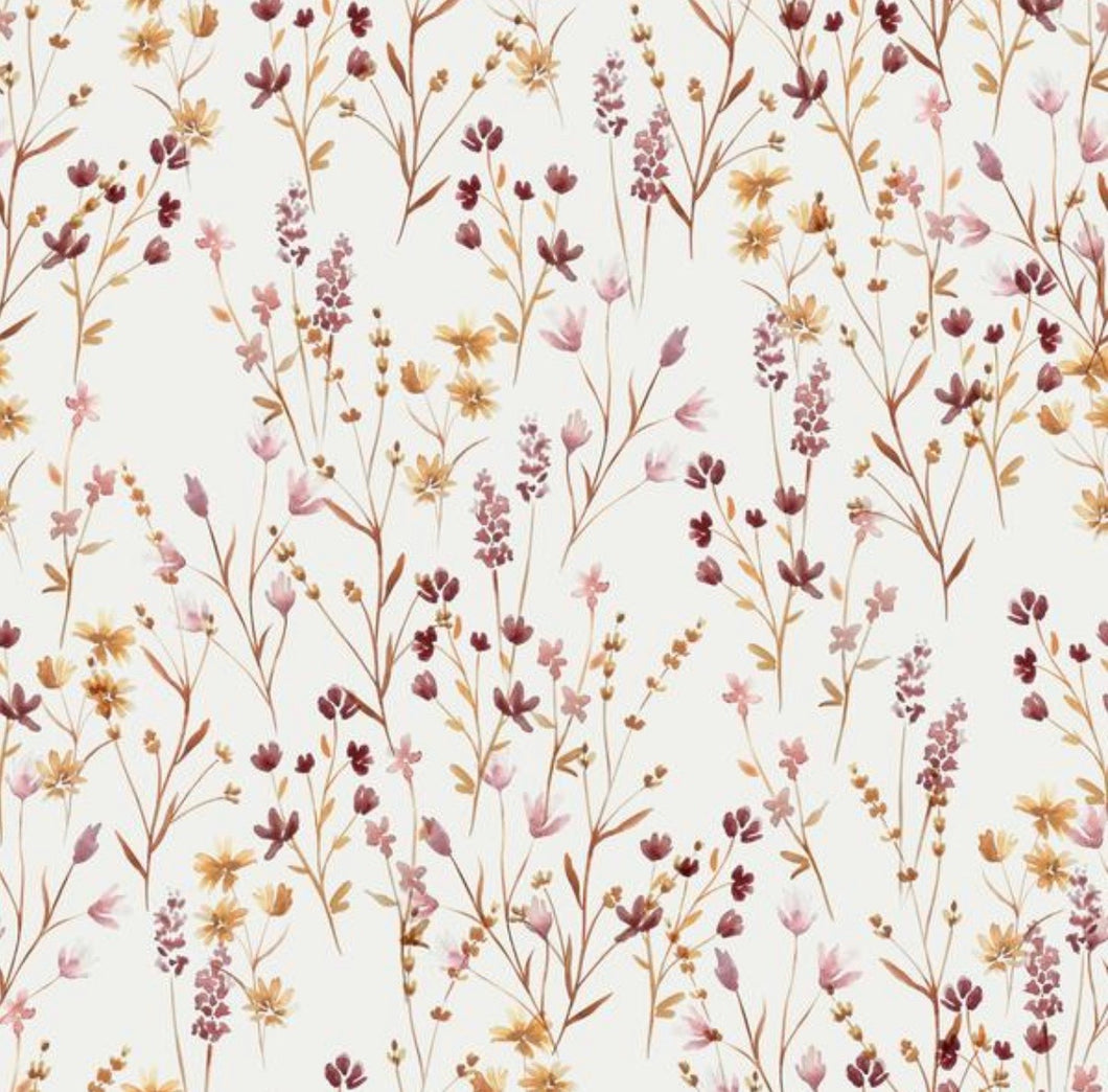 Meadow cotton jersey knit fabric family fabric