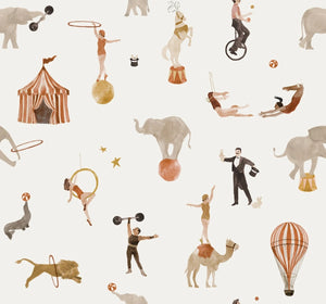 Circus cotton jersey knit fabric family fabric