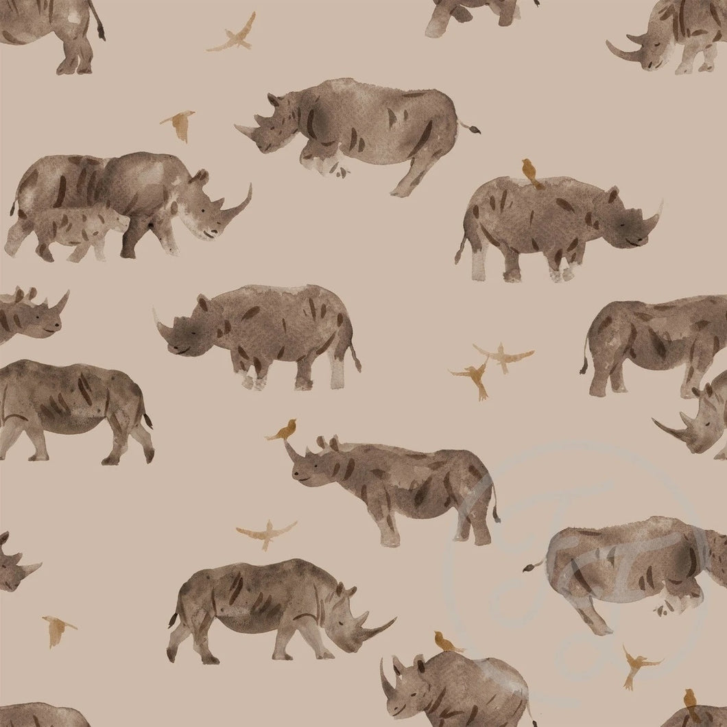Rhino cotton jersey knit fabric family fabric