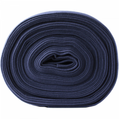 Solid blueberry organic ribbing, cuffing