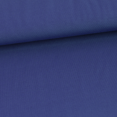 Solid blueberry organic cotton jersey knit fabric