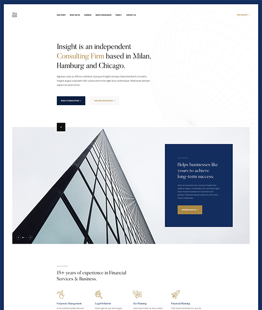Joomla Business Template - Insight