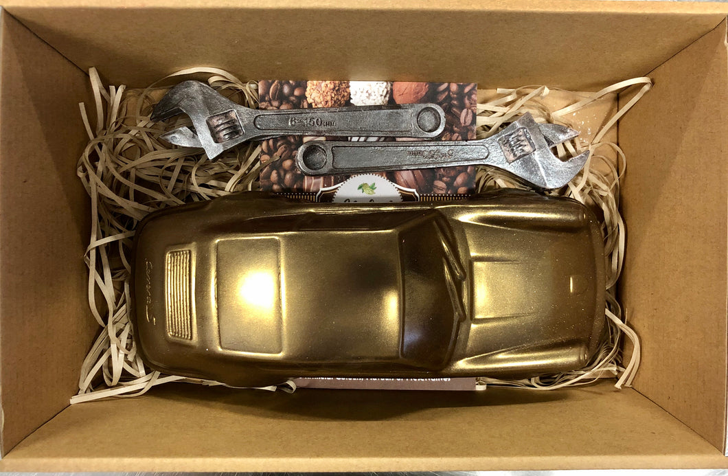 Dark Chocolate Porsche 911 Carrera S Gift Hamper