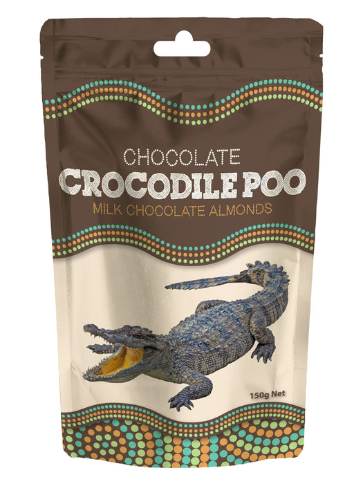 Chocolate crocodile poo souvenir gift