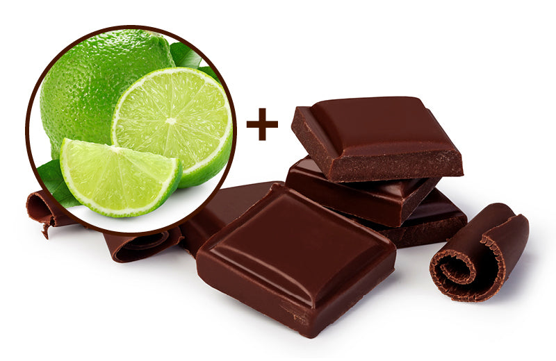 Lime Infused Dark Chocolate