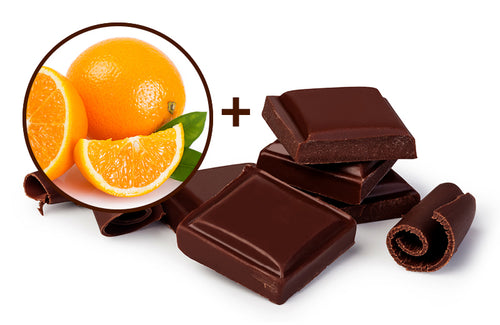 Wild Orange Infused Dark Chocolate