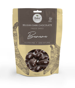 Dark Chocolate Freeze Dried Banana - 100g