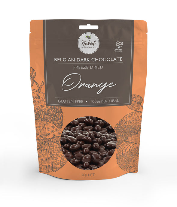 Dark Chocolate Freeze Dried Orange - 100g