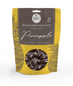 Dark Chocolate Freeze Dried Pineapple - 100g