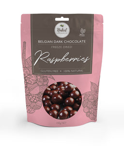 Dark Chocolate Freeze Dried Raspberries - 100g