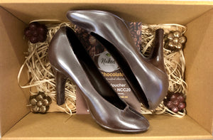 Dark Chocolate Stiletto Shoes Gift Hamper