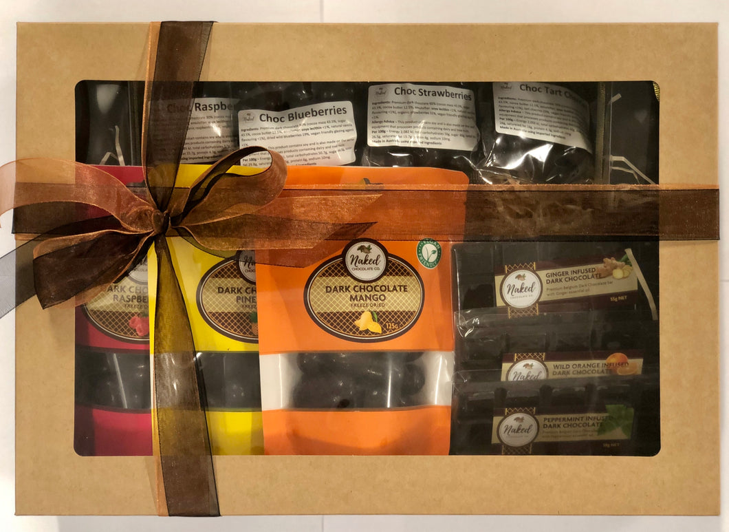 Vegan Friendly Chocolate Hamper - 1kg Total