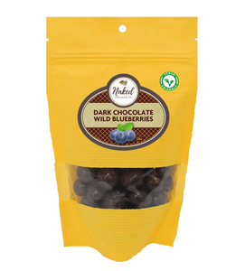 dark chocolate blueberries vegan friendly