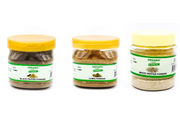 Combo Pack of Black Pepper Powder 50 g White Pepper Powder 50 g Cumin Powder 100 g - 200 Grams - Organic Cart