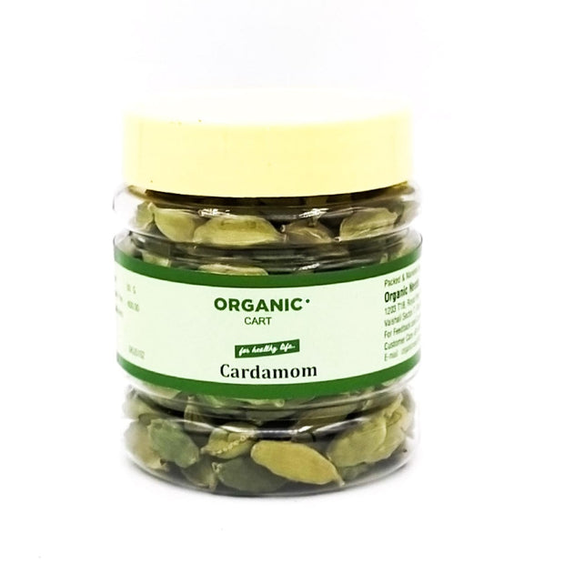 Organic Cart Natural Green Cardamom/छोटी इलायची - Organic Cart