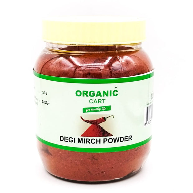 Organic Cart Natural Degi Mirch Powder/देगी मिर्च - Organic Cart