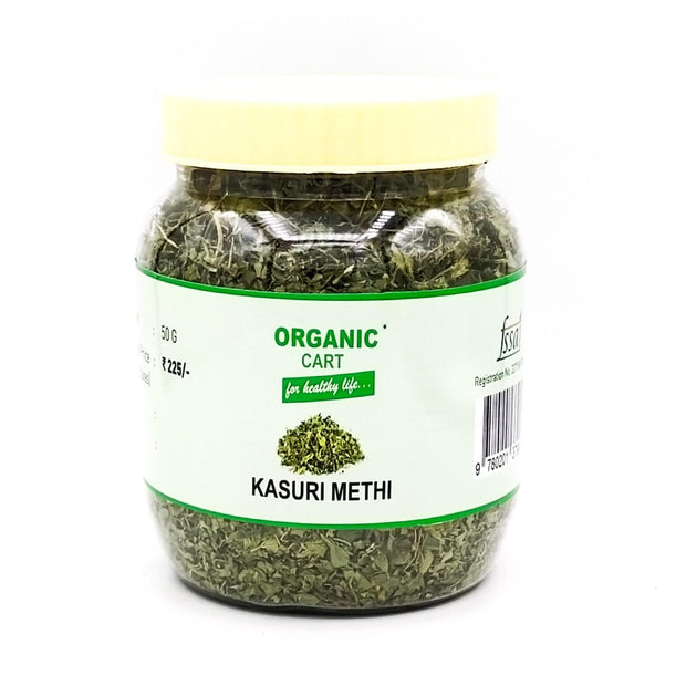 Organic Cart Natural Kasuri Methi Dried/कसूरी मेथी - Organic Cart