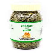 Flax Seeds 100 G Chia Seeds 100 G Pumpkin Seeds 100 G -300 Grams - Organic Cart