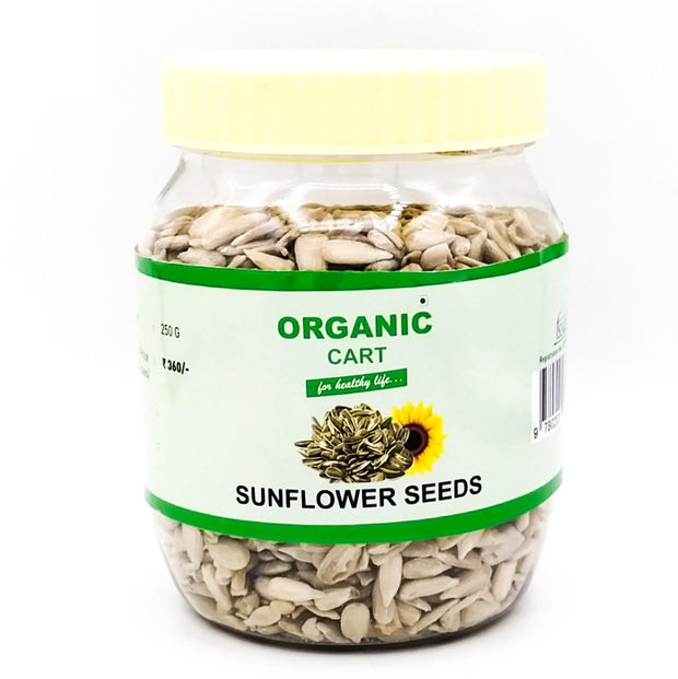 Organic Cart Natural Sunflower Seeds/सूरजमुखी बीज - Organic Cart